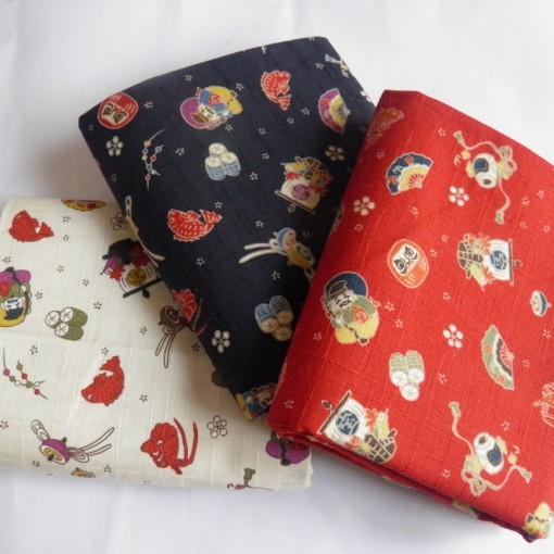motifs traditionnels tissu La Rabichette