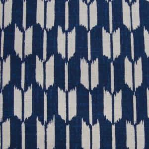 Motif Geometrique Fleches Yagasuri Fond Bleu Marine 20 110 La