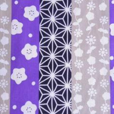 bandes violettes