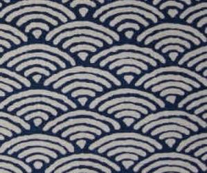 Réassort spécial ! le motif seigaiha bleu indigo est de retour !
