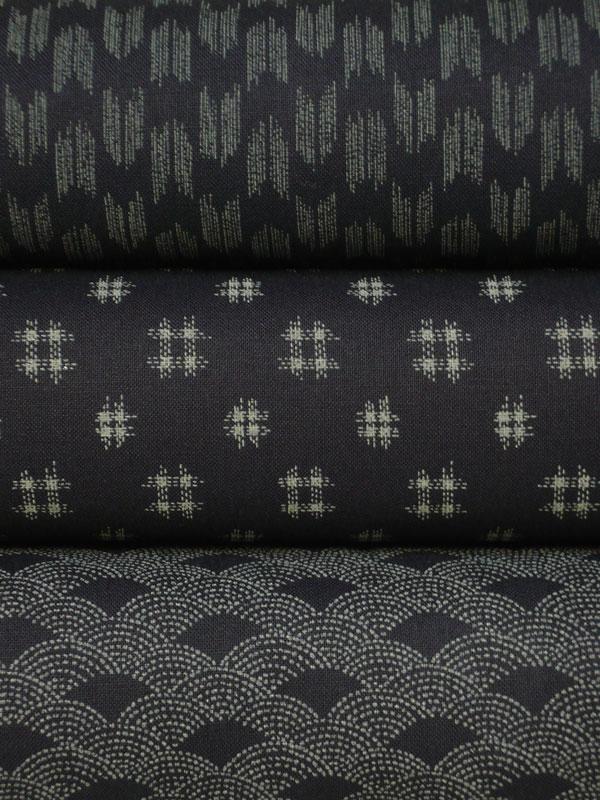 En nouveauté : motifs indigos géométriques