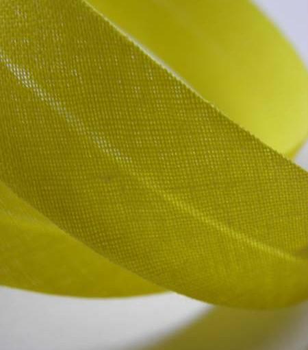 biais jaune vif