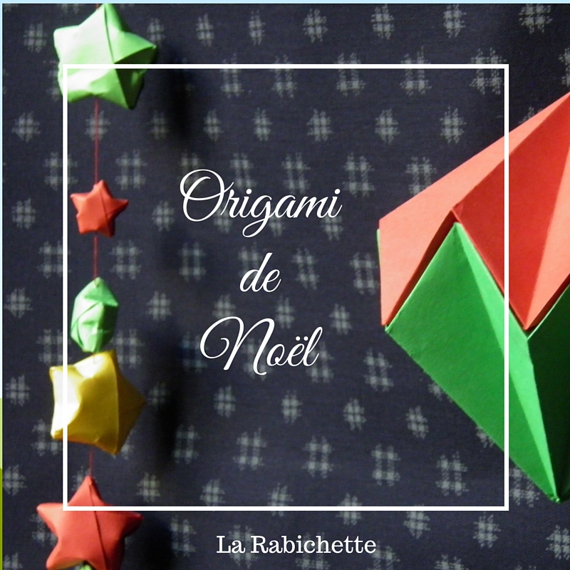 Origami de Noël
