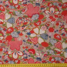 tissus-couture-tissu-motifs-fleuris-fond-beige