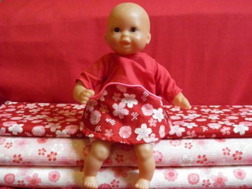 poupée en mini Louisa