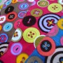 coupons velours boutons