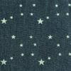 tissu chambray étoiles