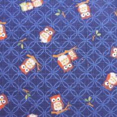 tissu japonais hiboux shippo