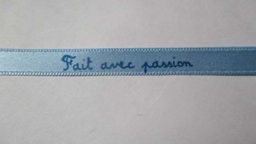 ruban fait avec passion