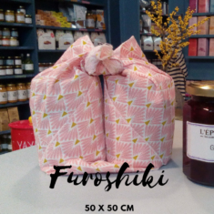 Furoshikis carrés 50 x 50 cm