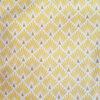 tissu écailles art deco jaune