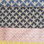 tissu écailles art déco