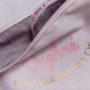 Pochette personnalisée prénom maman en OR