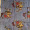 wax roses fond bleu La Rabichette