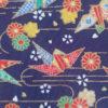 tissu grue origami japonais