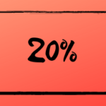 reduction 20 %