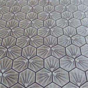 tissu motif trefle