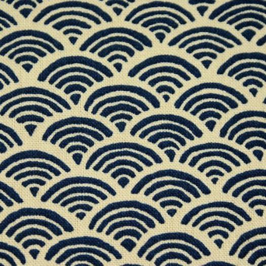 tissu japonais seigaiha