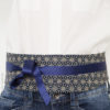 ceinture tissu japonais