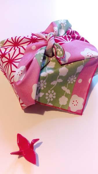 furoshiki rose bandes
