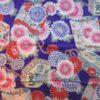 coupon tissu japonais violet