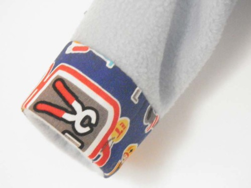 Haut Oslo appliqué en tissu bricolage la Rabichette