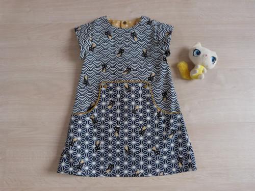 Louisa Dress faite par Tire La Bobinette